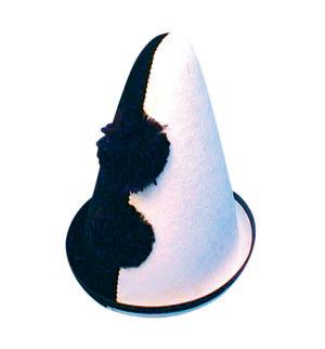 Clown Spitz hat, black...