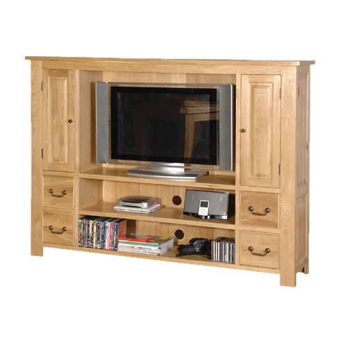 Coach House Quebec Oak Flat Screen Tv Cabinet Review