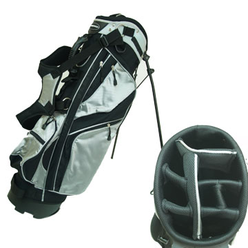 Confidence Golf Deluxe 9 Inch Stand Bag with Dual StrapThe Confidence 9`` Stand Bag is a new lightwe