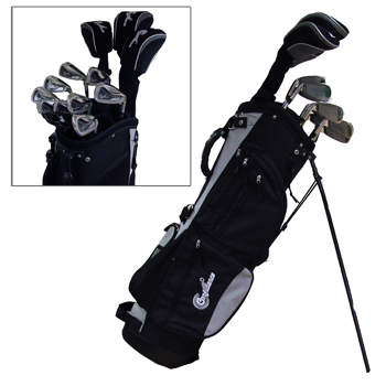 NEW       MODEL      Confidence Visa Complete Golf Clubs Set   Stand       Bag              1-3-5 Be