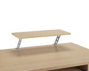 contemporary desk top shelf office desk review compare. Black Bedroom Furniture Sets. Home Design Ideas