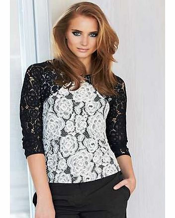 Unbranded Corded Lace Top