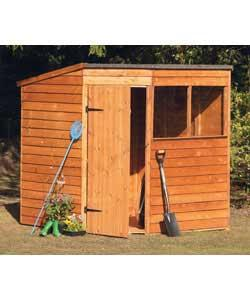 Corner wooden shed 6x6 garden shed review compare for Garden shed 6x6