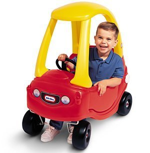 Watching the neighbour 39 s kid learn to ride a bike for the - Little tikes cosy coupe car best price ...
