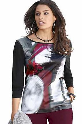 Unbranded Creation L Printed Top