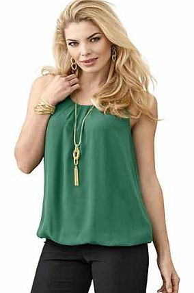 Unbranded Creation L Sleeveless Layered Top