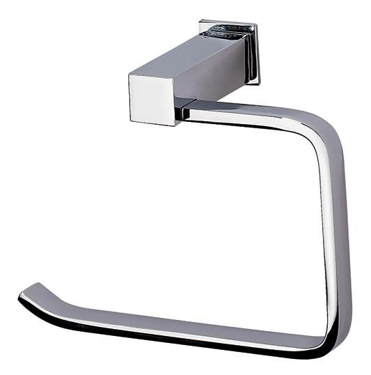 This stunning toilet roll holder is supplied in a superb chrome finish