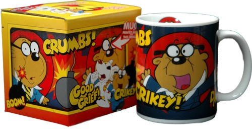 If you were a big fan of the secret agent antics of Dangermouse and Penfold - why not treat yourself