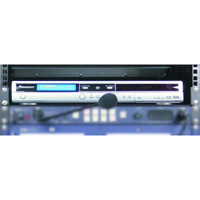 Universal rack mount tray for DVD recorder or player. - CLICK FOR MORE INFORMATION