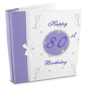 Unbranded Decorative 80th Birthday Photo Album