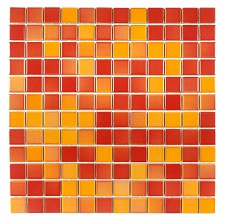 A sheet Gloss mosaic ideal for Bathroom Kitchen