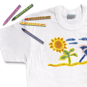 Design Your Own T Shirt Transfer Fabric Crayons Review