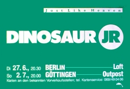 DINOSAUR JR Just Like Heaven Tour Music Poster 84x59cm