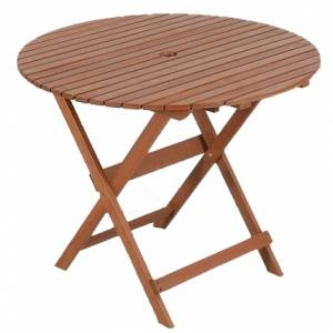 Directors 90cm diameter bistro table review compare for Table ronde 90 cm diametre