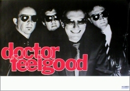 DOCTOR FEELGOOD German Tour Music Poster 84x59cm