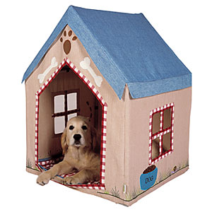 Dog bed kennel frame tent house pet accessorie review for Bed frame with dog kennel