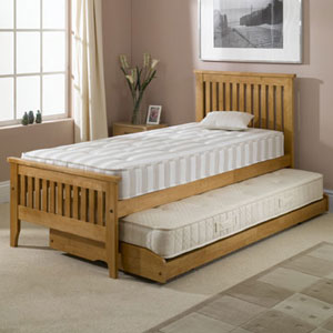 Dreamworks Beds Olivia Single Wooden Guest Bedstead