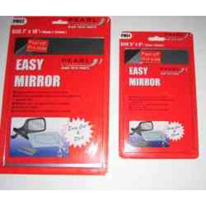 Easy Mirror Kit This clever idea takes away the hassle of being without your door mirror at an incon