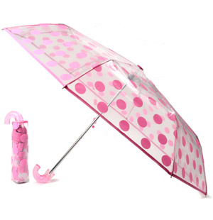Practical and stylish, the Eclear portable umbrella is the perfect size to carry in your handbag. Fe