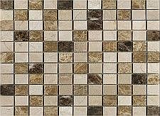 Create a luxurious and stylish look in your home with Expresso Marble MosaicThis distinctive mosaic can be used for floors as well as a decorative option for walls and splashbacksMarble is a luxurious and sought after stone perfect for creating that