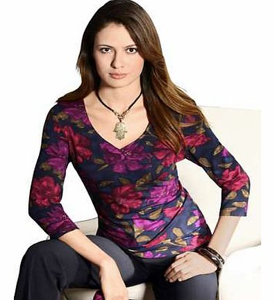 Unbranded Fair Lady Floral Print Top