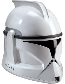 Unbranded Fancy Dress - Adult Clone Trooper Deluxe Helmet