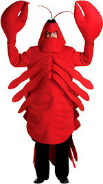 Fancy Dress - Adult Lobster Costume - review, compare prices, buy ...