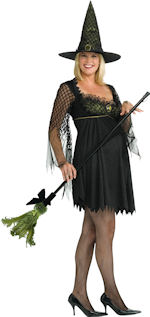 Fancy Dress - Adult Maternity Sexy Witch Costume product image