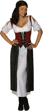Unbranded Fancy Dress - Adult Medieval Lucrezia Costume