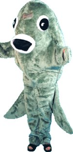Fancy dress fish mascot costume review compare prices for Fish head costume