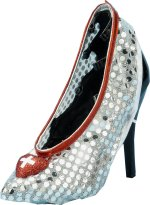 Unbranded Fancy Dress Costumes - Nurse Silver Sequin Shoe Covers