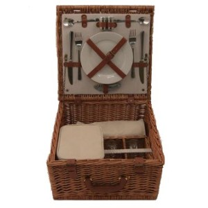 Unbranded Fitted Picnic Basket - 2 Persons (PN260)