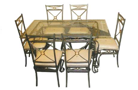 Florida 6 Dining Set