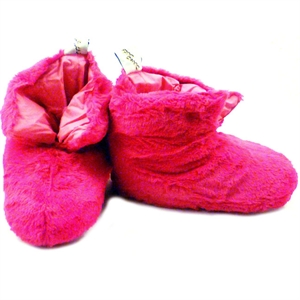 Unbranded Fluffy Boot Slippers - Fuchsia