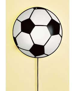 Football pin up wall light low energy wall light review compare football pin up wall light low energy mozeypictures Images