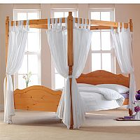 Where can I buy curtains for a four poster bed? - Yahoo! Answers