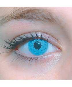 Contact lens light blue