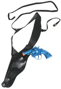 Unbranded Gangster Gun Holster with Revolver