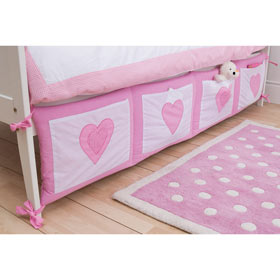 Gingham Heart Bed Tidy Review Compare Prices Buy Online