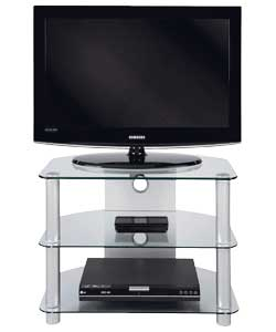 Glass Up To 28 Inch TV Stand