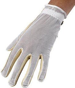 The Palm is made from soft cabretta for comfort and grip. Elasticated back is made from a special