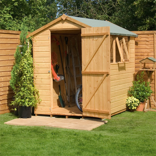 Blog didan billyoh overlap bike store shed must see for Garden shed tesco