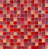 Create a luxurious feature in your home with Hammered Pearl Pink MosaicThis pink mosaic is ideal for giving a modern twist to the average kitchen or bathroomThis mosaic has a lovely delicate pearl finish which has a stunning reflective quality perfec