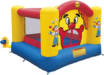 happy hop clown bouncy castle garden game review
