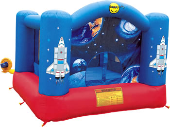 Unbranded bouncy castles for Happy hop clown bouncy castle