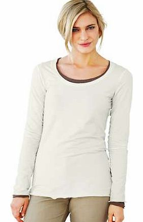 Unbranded Heine Lace Trim Top