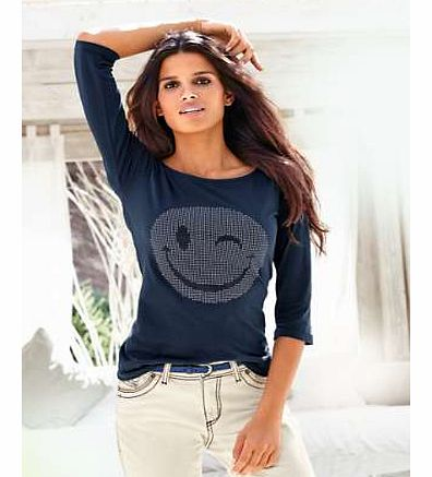 Unbranded Heine Smiley Face Top