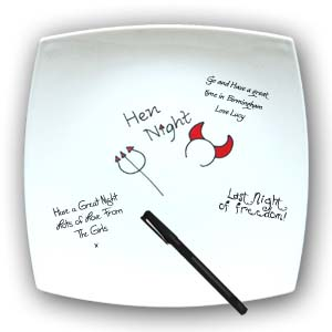 Hen Night Signature Plate product image