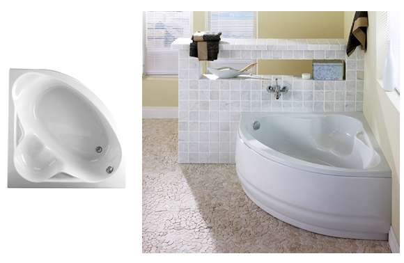 Heron corner bath 1200x1200mm review compare prices for Bath 1200