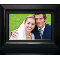 Unbranded HP 7 Black/Silver Digital Photo Frame with